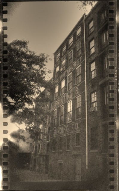Whitehurst Printing & Binding Co. in Film HDR printout