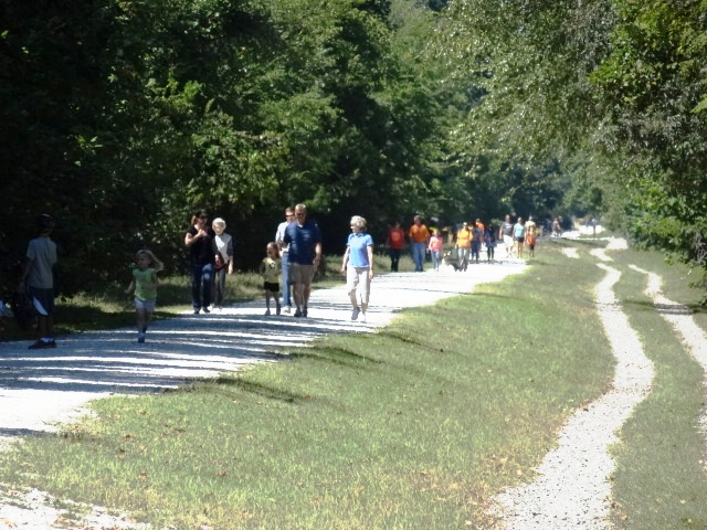 Trail is perfect for walkers