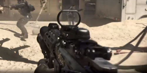 Call of Duty: Ghosts- Shotgun attachment