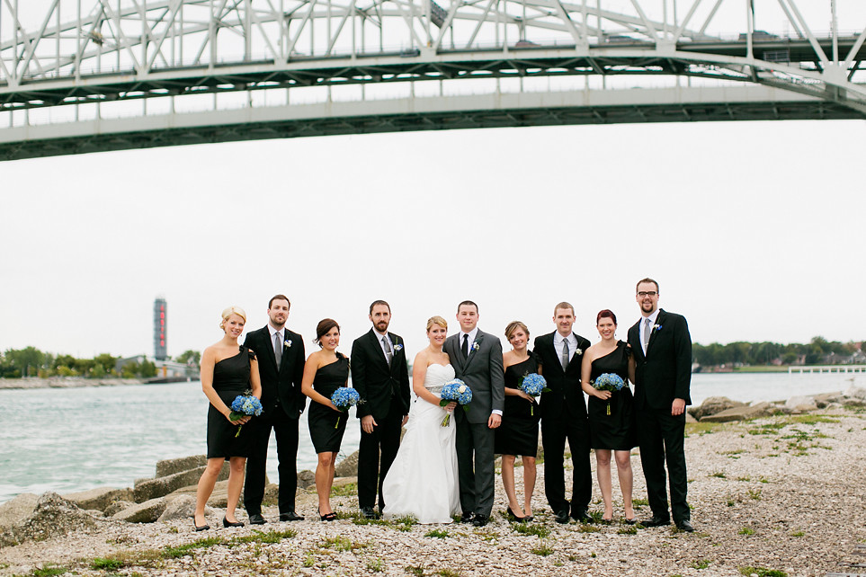 10 Port Huron Bridal Party