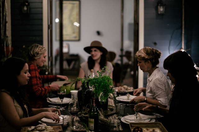 autumnal french feast: local milk x ruthie lindsey design