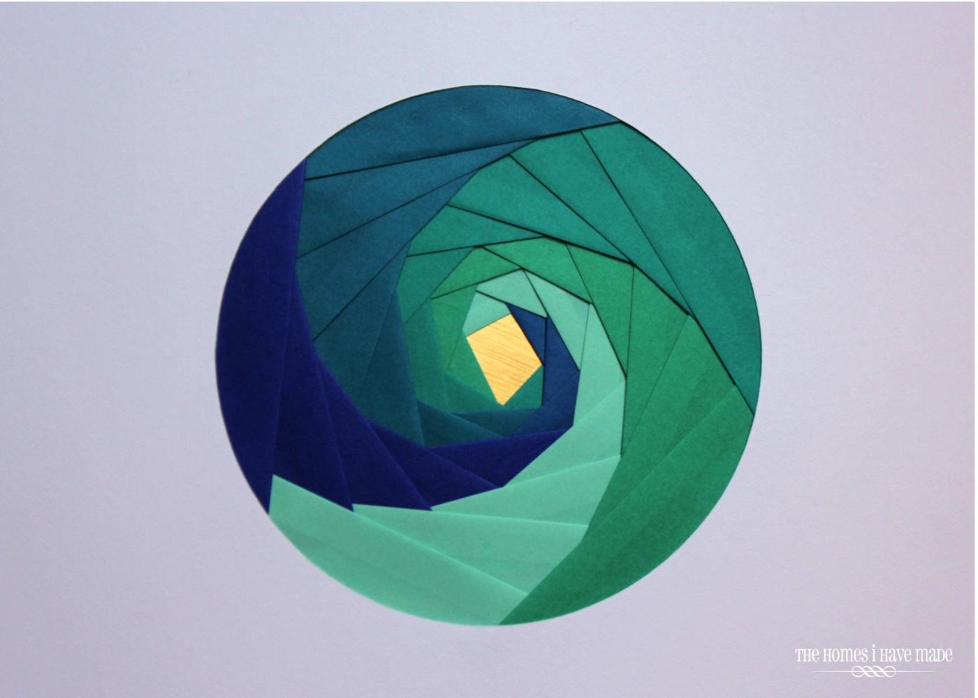 Iris Paper Folding Art-010