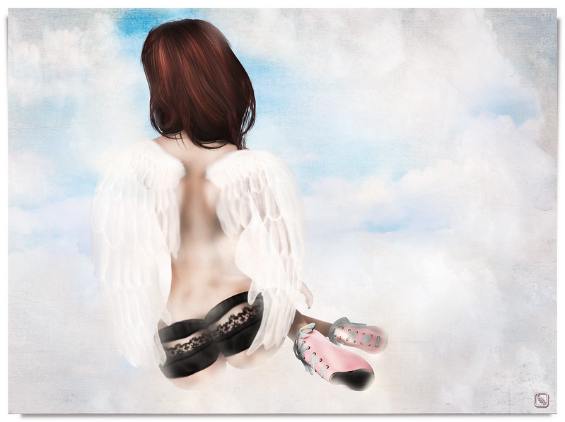 Shoetopia 2013: Pink Platformed Angel.