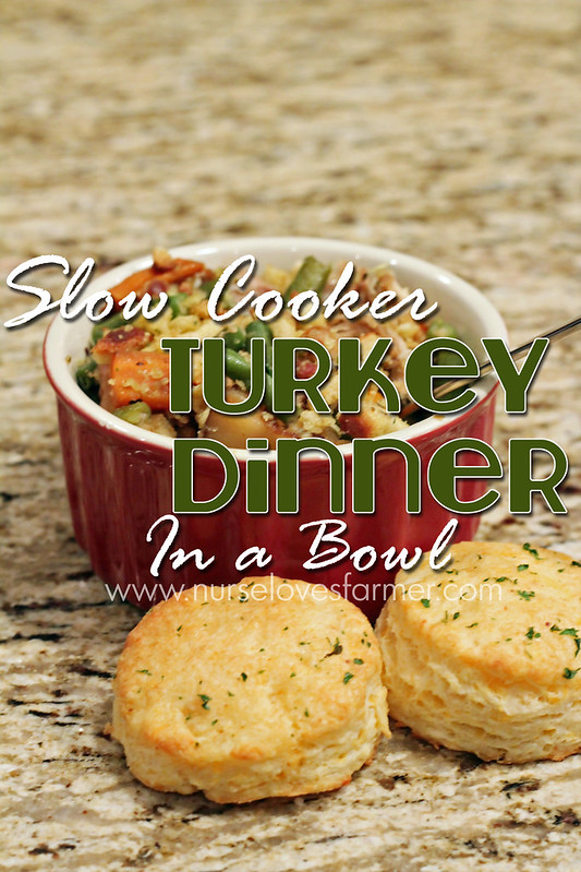 Slow Cooker Turkey Dinner in a Bowl