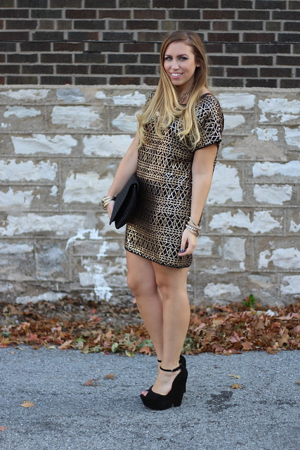 Living After Midnite: Holiday Dressing in Sequins