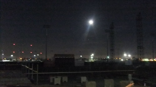 SnapShot | An Almost Full Moon Powers Down On The #Meadowlands 11/16/13