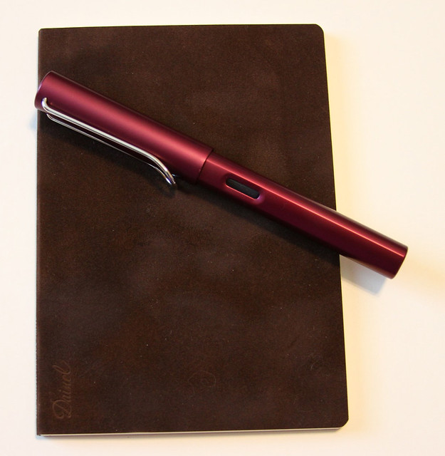 Midori World Meister Vol. 1 Dainel A5 Notebook - Tea Brown with Lamy