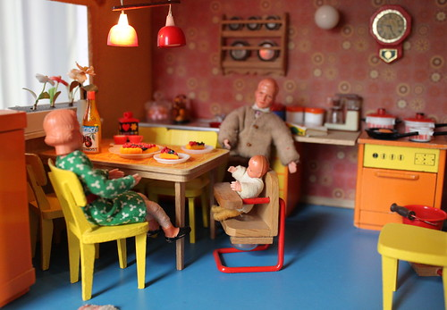 In the Lundby kitchen