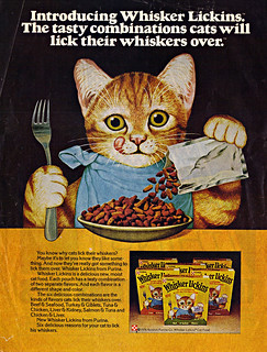 "PURINA :: ' Introducing ""Whisker Lickins"" - ' (( 1976 ))"