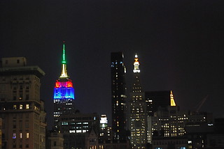 Empire State Building Shines for Nelson Mandela