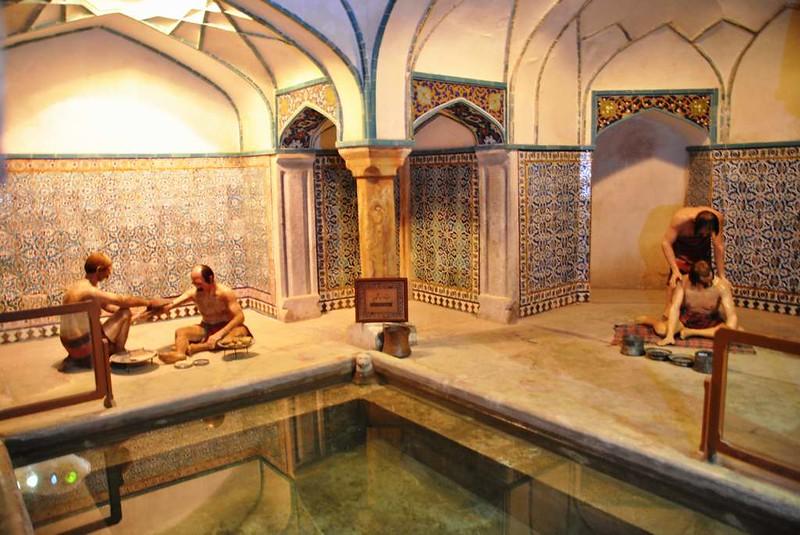 206 sala de baño de los Antiguos Baños en la plaza Central de Kerman (6)