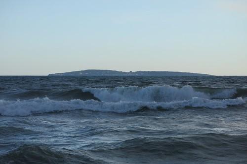 南平堤岸看海