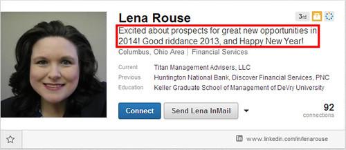 Lena Rouse LinkedIn