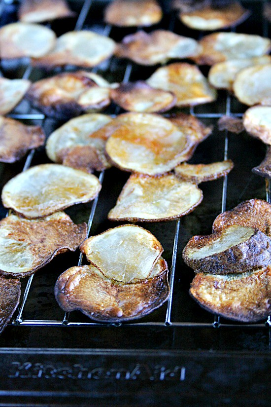 Baked Potato Chips | Buffalo Style
