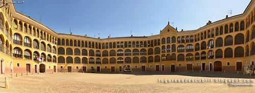Plaza de Toros Vieja de Tarazona (Zaragoza, España)