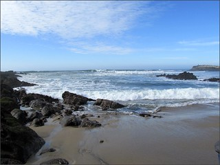 Waves at Pescadero