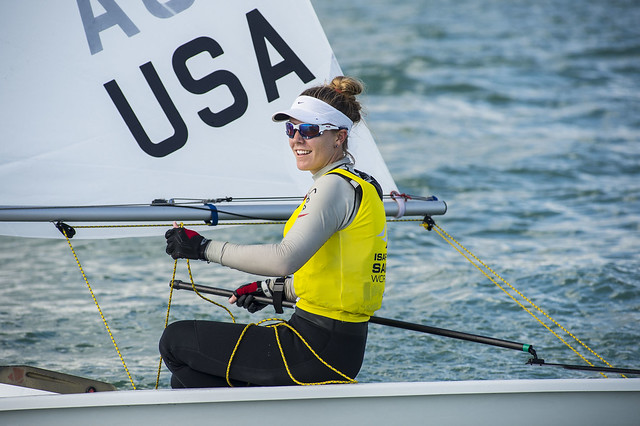 Paige Railey: Sailing World Cup 2014, Miami: Medal Race Laser Radial