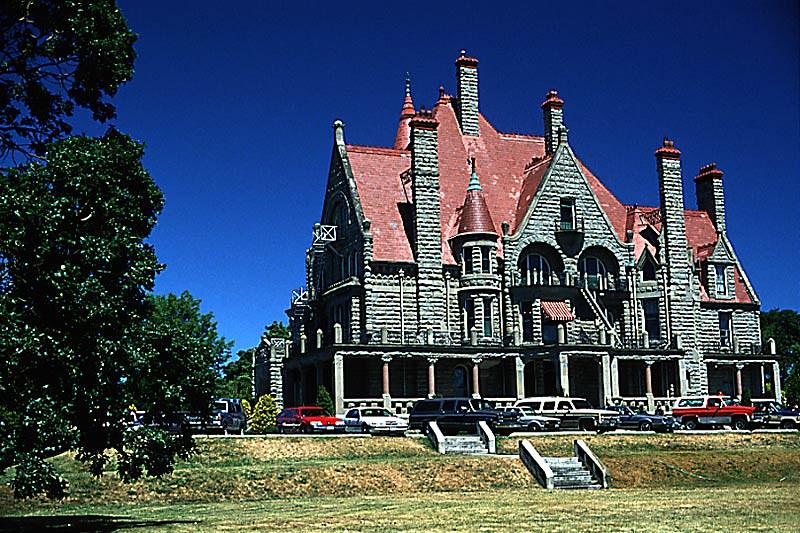 Craigdarroch Castle, Victoria, Vancouver Island, British Columbia, Canada
