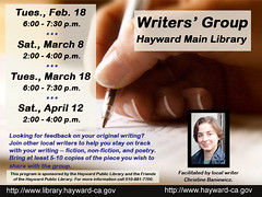 Peer Writers' Group at the Hayward Public Library