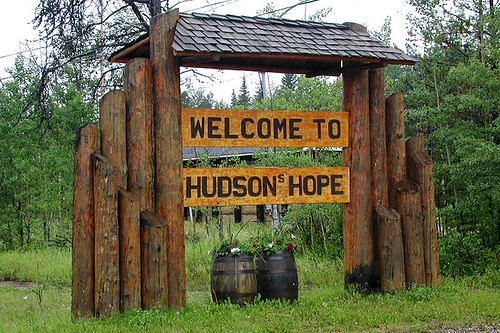 Hudsons Hope, Northern British Columbia, Canada