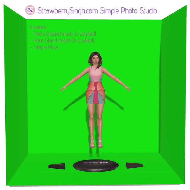 StrawberrySinghcom Simple Photo Studio (free)