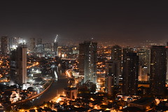 Makati from above with the mighty D800