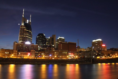 Nashville Skyline at Dusk 2014 #1