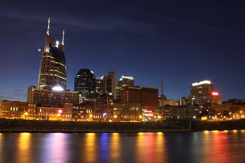 Nashville Skyline at Dusk 2014 #1