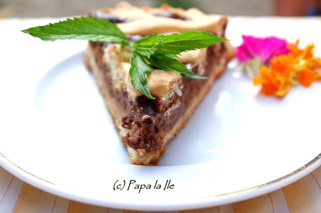 Tarta cu ciocolata si nectarine (13)