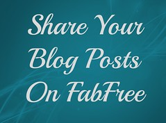 Would You Like Your Blog Post Featured on FabFree?