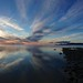 Sunset: Antelope Island by rickimonius