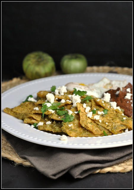 Chilaquiles and Salsa Verde 1