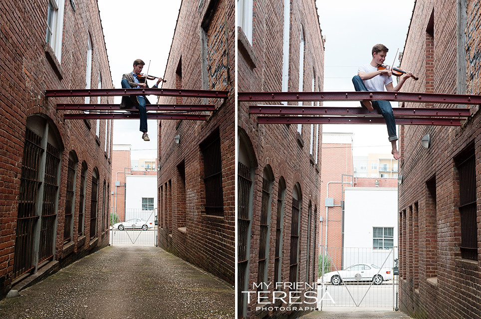 cary academy senior portrait, my friend teresa photography, rock climbing portrait