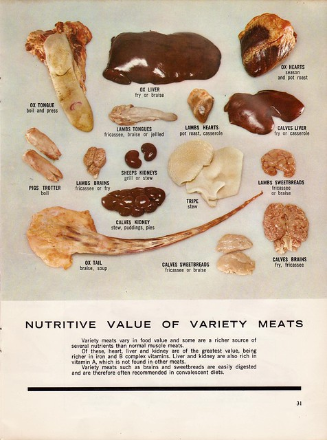 Meat! - From a 60s meat industry cookbook