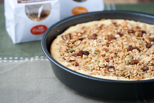 Rosemary-Orange Granola Coffee Cake