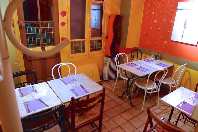 Restaurant végétarien Aquarius - Paris