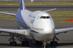 ANAのB747-400Dの最終運航を見届ける