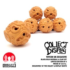 @collectanddisplay exclusive Oozeball sets for #toyconuk this Saturday! Check the blog for more info...