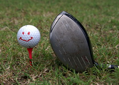 ball, grass, sports, golf club, golf equipment, ball,