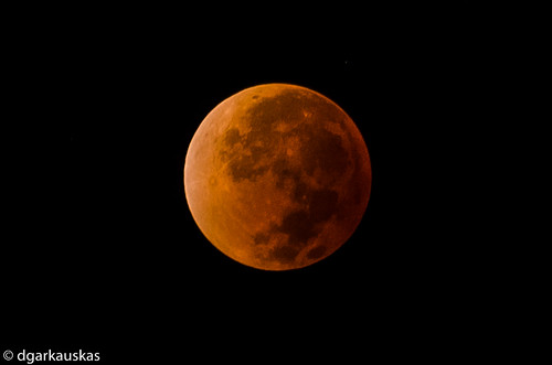 Total lunar eclipse, 2014 Apr 15 (Blood Moon)