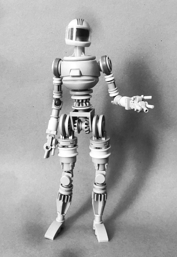 Robot WIP III (custom built Lego model)