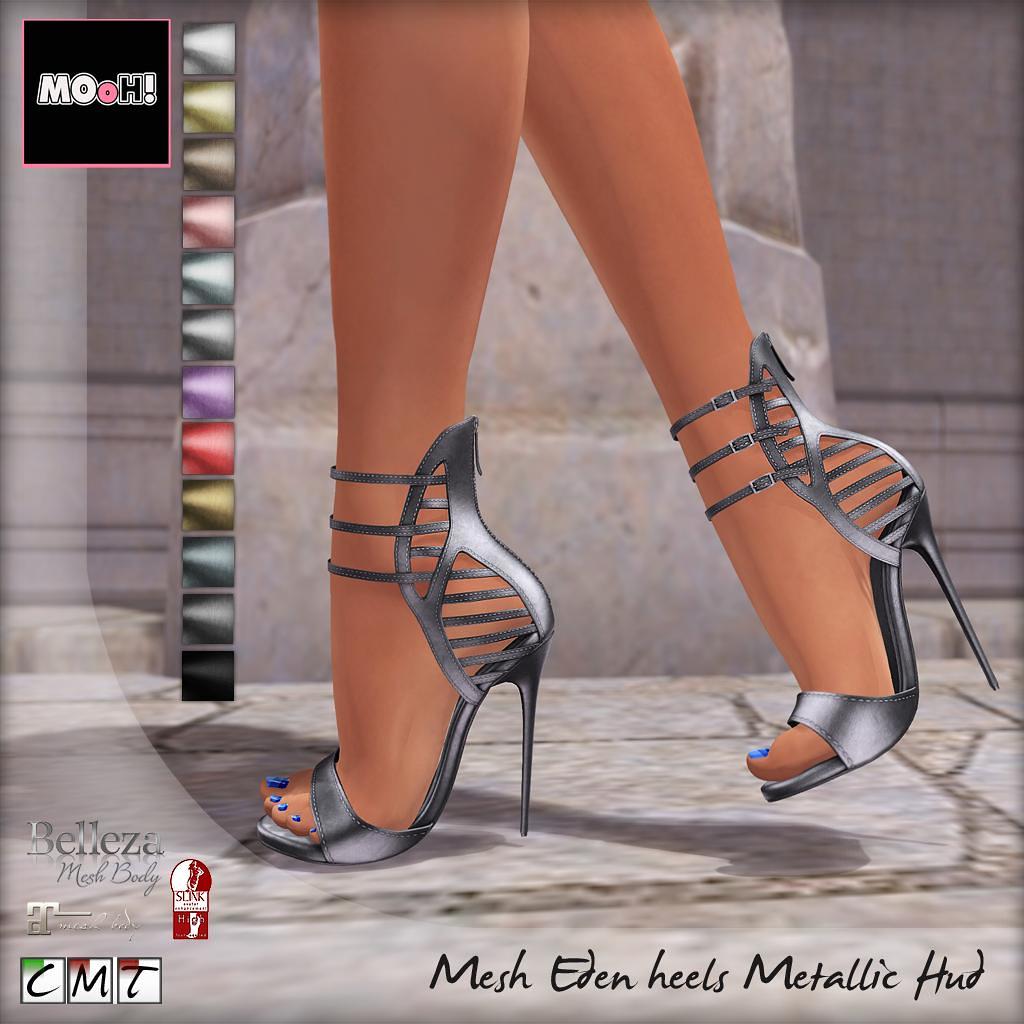 Eden heels metalic Hud - SecondLifeHub.com