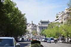 Desde la puerta de Alcalá - Madrid