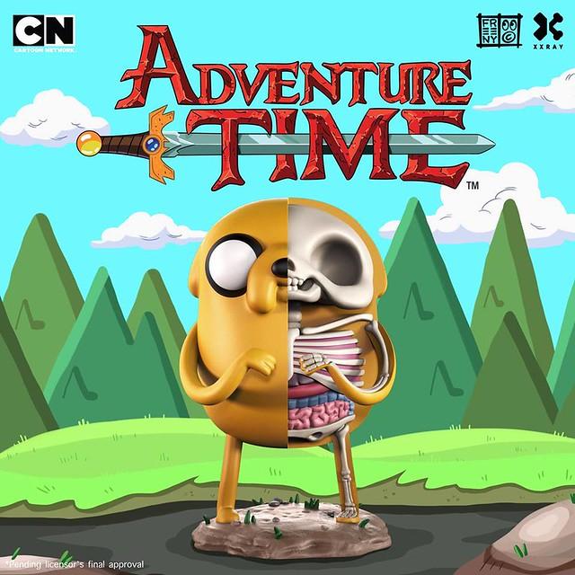 MightyJaXX × Jason Freeny XXRAY系列《探險活寶》老皮 XXRAY Adventure Time Jake The Dog