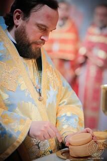 Литургия в Иверском монастыре 460