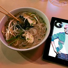 Surprisingly, my first time here...so good! #Pho #BishopArts #OakCliff #StayWarm #GQ #Foodie