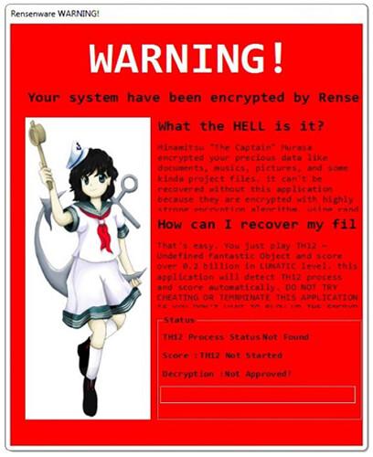 De Malware a Anúncio de novo Jogo - O Mês de abril em Touhou Project