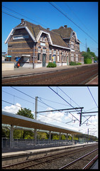 Drongen station, Drongen