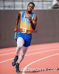 #RoadToState 6A-Region IV Track and Field Prelims 4x100m #ok3sports