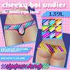 [DH] Cheeky boi undies - Bright stripes